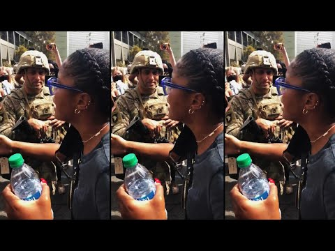 Watch Keke Palmer's Powerful Protest Moment With National Guard Members