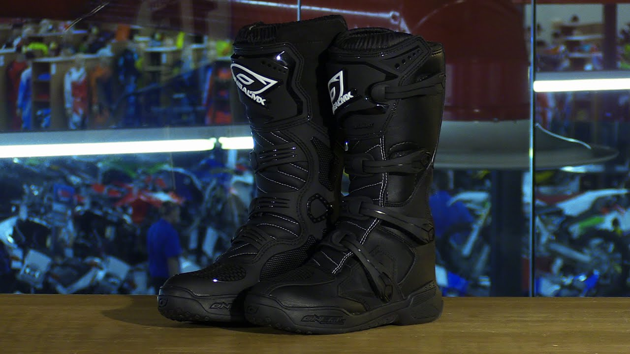 Motorcycle Boots Review O'Neal Racing Element LqzpGUVSM
