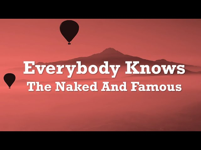 The Naked And Famous - Girls Like You (Album Version