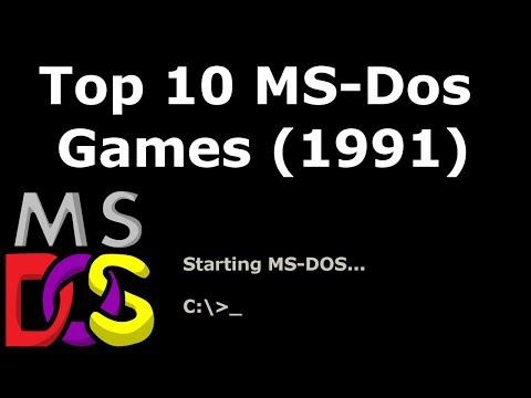Top 10 MS-Dos Games (1991)