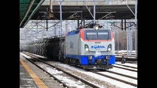 코레일 8534호 시멘트 화물열차 천안역 정차