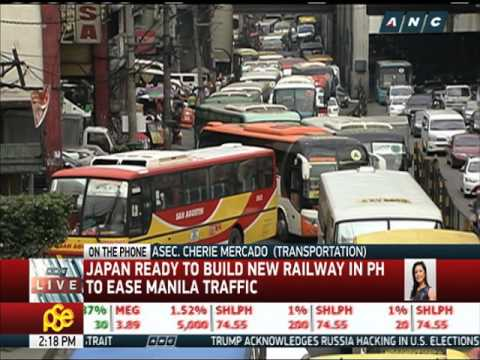 Manila-Malolos railway construction to start this year