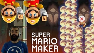 Mario Maker - Super Expert Highlights (Twitch Livestream 10/24/2016)