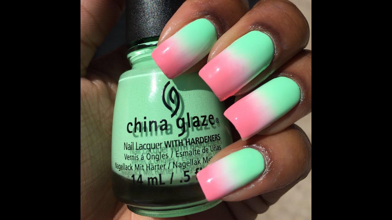 Watermelon Nails - YouTube