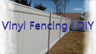 Vinyl Fencing | DIY