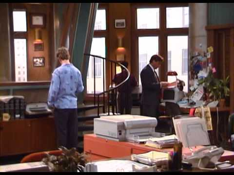 Filming NewsRadio While NewsRadio Films.