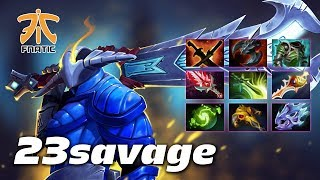 23savage SVEN - 9 slotted ROGUE KNIGHT - Dota 2 Pro Gameplay