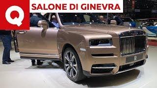 Rolls-Royce Cullinan, sulla Suv più lussuosa del mondo - Salone di Ginevra 2019 | Quattroruote