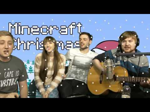 Minecraft Christmas Livestream Performance  12-30-13 Sparkles*, Parv, Martyn, and Beckii