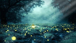 Fall Asleep in Under 3 MINUTES ★︎ Body Mind Restoration ★︎ Melatonin Release Rain And Ambient
