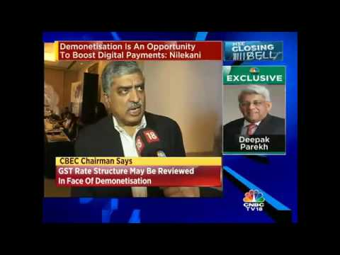 Demonetisation Could Impact Growth: Nandan Nilekani