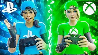 I used PS4 & XBOX Controller in Fortnite... (which is better)