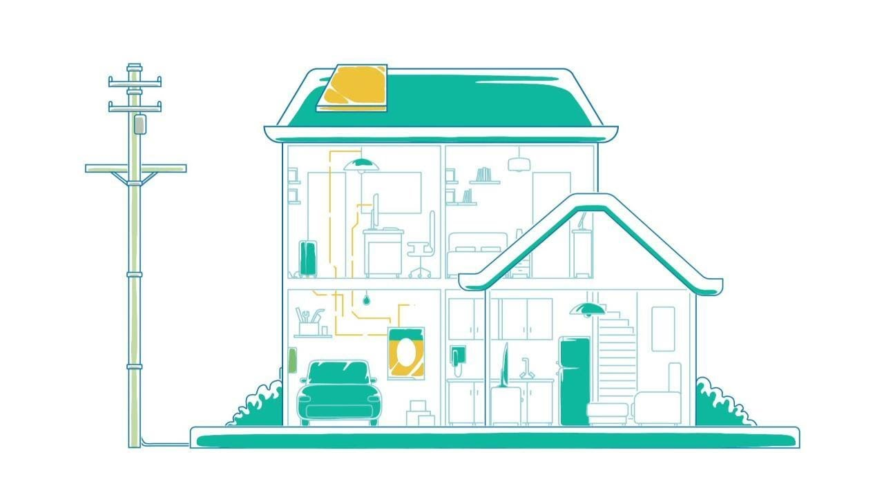 xStorage Home helps you store and control energy in your home