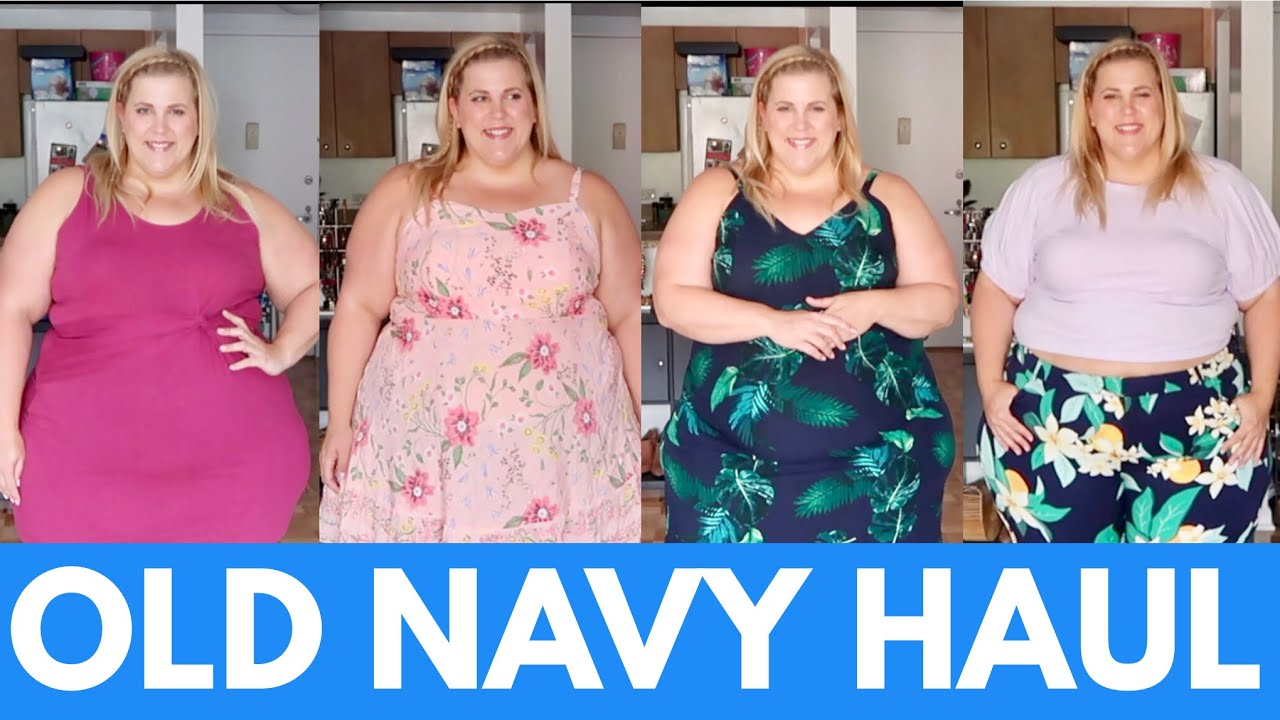 Old Navy Affordable Plus Size Spring Haul - YouTube