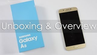 Samsung Galaxy A8 Unboxing & Hands On Overview