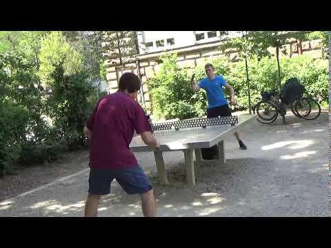 Tischtennis An Der Frauenschule Fuerth  Mit Den Steinb     An Der Steinplatte 20190619  11