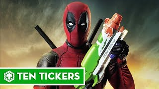 Top 10 thứ quái dị mà Deadpool sở hữu | Ten Tickers No. 23