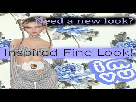 IMVU: Creating an Outfit Inspired by Fine ( The Creator )