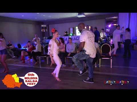 Sean Babatunde & Sandra Sinziana Bogorin ( Social Salsa ) @ Moldova Salsa Festival 2018 ( #722 )