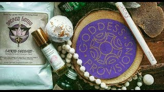 ASMR Unboxing of Goddess Provisions October 2019 Box