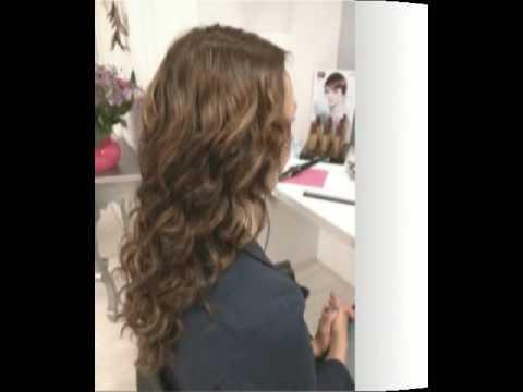 Verwonderend Van korte bob naar lang haar met hairextensions.swf - YouTube LU-51