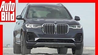 BMW X7 (2019) Test  / Details / Fahrbericht
