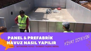 Panel Havuz Nasıl Yapılır ,inşaatı,panel havuz imalatı,tadilat dekorasyon firması