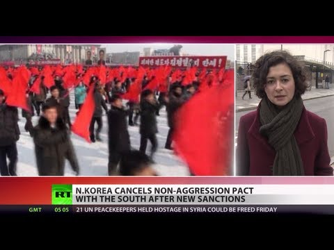 North Korea ends non-aggression pacts with South, cuts hotline