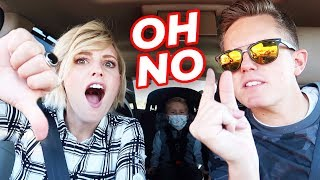 WE GOT IN A FIGHT BEFORE CVX LIVE! 🤬 | Ellie And Jared