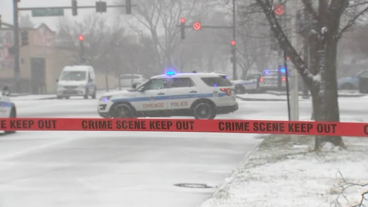 Download Chicago police officer ambushed, shot while sitting at red light in Calumet Heights   ABC7 Chicago