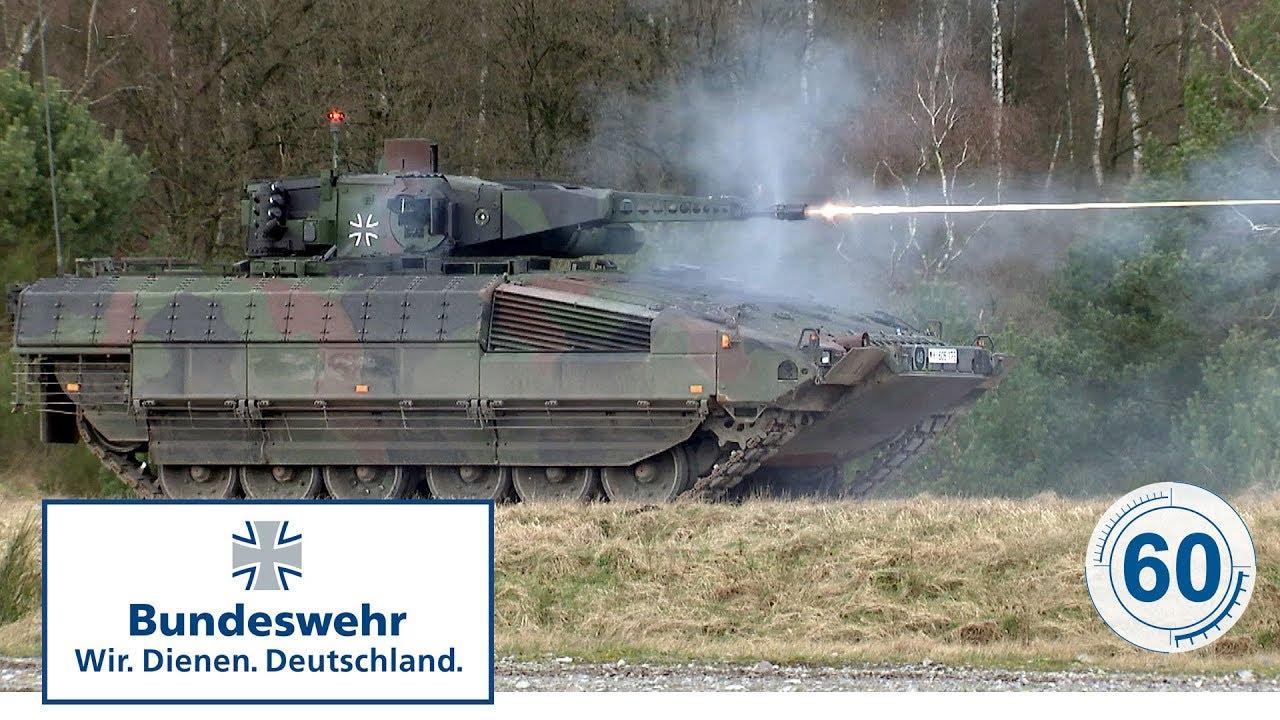 60 Sekunden Bundeswehr Schützenpanzer Puma Youtube