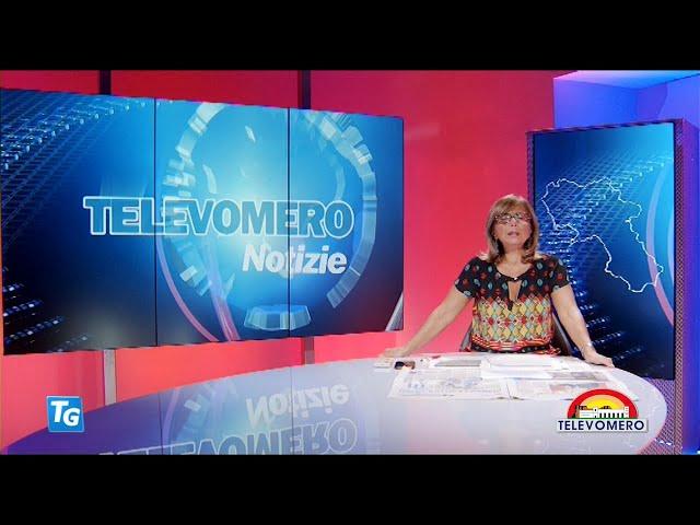 TELEVOMERO NOTIZIE 21 SETTEMBRE 2020 EDIZIONE delle  20 30