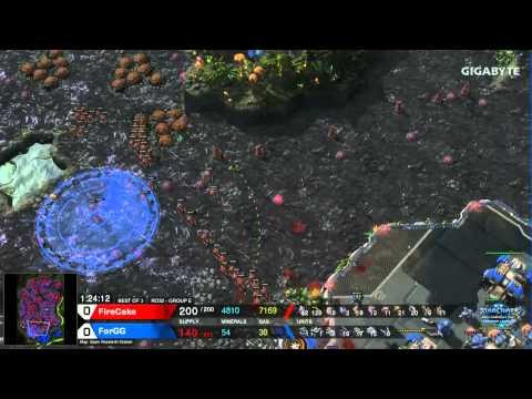 StarCraft 2 - FireCake vs. ForGG (ZvT) - WCS Premier League Season 1 2015 - Ro32 Group E