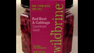 Raw Vegan Product Review: Wildbrine Sauerkraut Salad