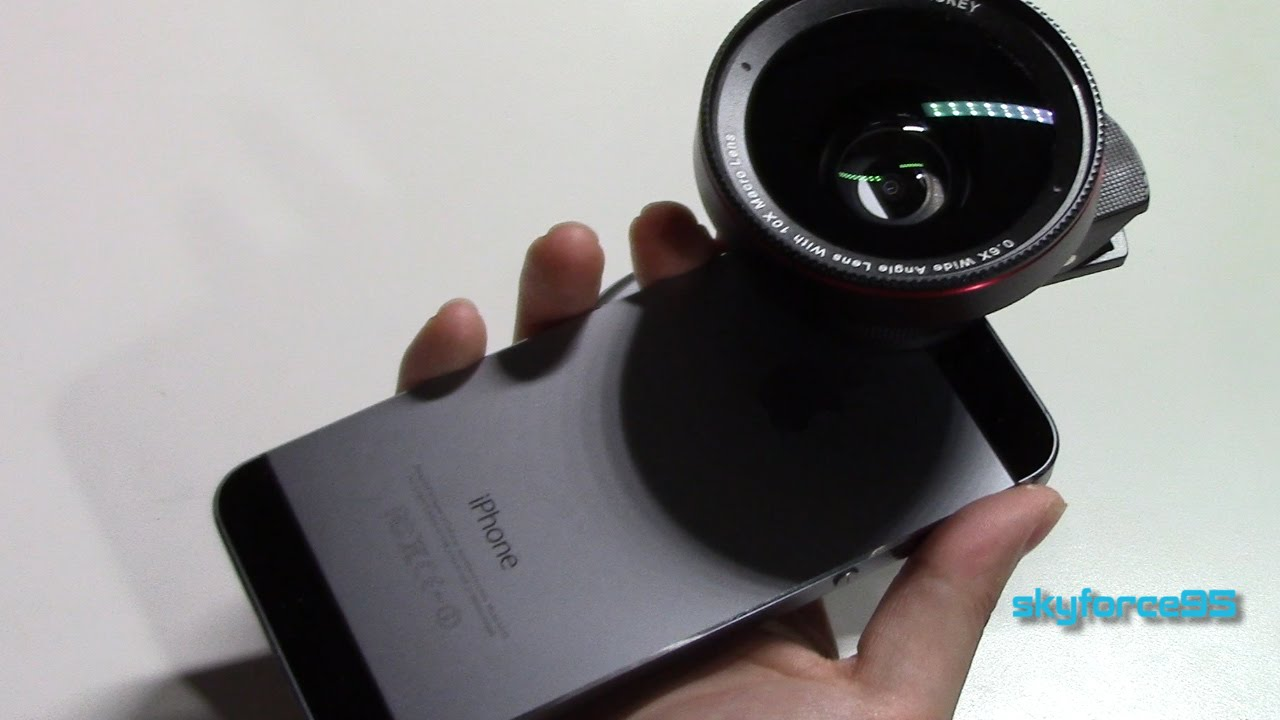AUKEY Wide Angle & Macro Smartphone Camera Lens Kit Unboxing & Review