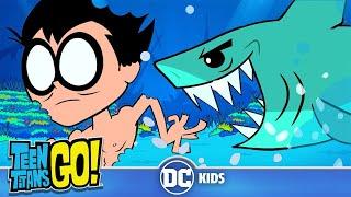 Teen Titans Go! em Português | Semana dos Tubarões | DC Kids
