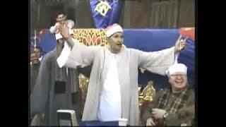 الشيخ محمد ضيف يقف منبهراً من تلاوة الدكتور الطاروطى فى عزاء والد الشيخ محمود صابر