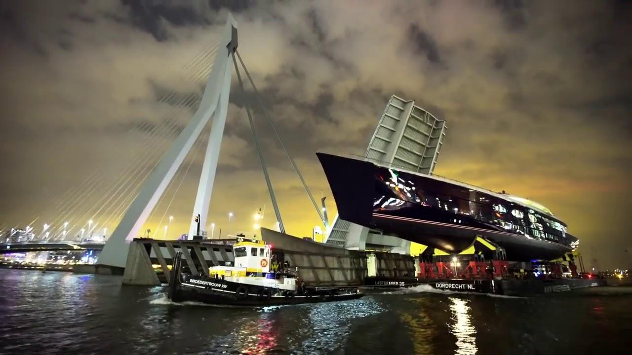 VIDEO: Oceanco delivers world's largest DynaRig sailing