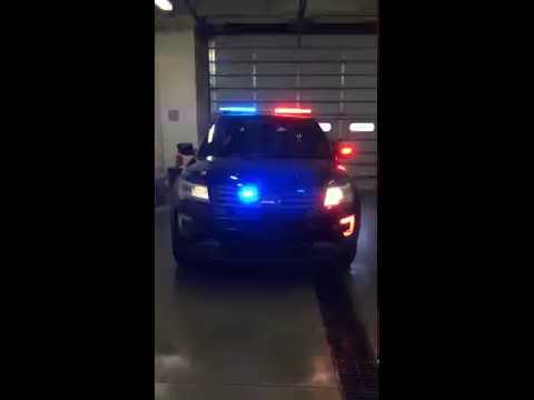 2016 Ford Police Interceptor Utility Arrives At Mhq