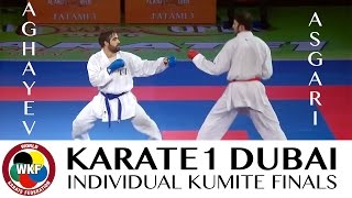 Download Video Rafael AGHAYEV vs Bahman ASGARI. Final Kumite -75kg. Karate1 Premier League Dubai 2016 MP3 3GP MP4