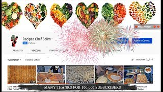 Traditional Thanks Message Thanks For 100,000 Subscribers :)