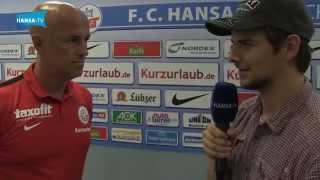 Interview mit Karsten Baumann vor dem Pokalspiel gegen Kaiserslautern