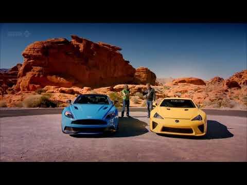 Топ Гир (Top Gear) Тест-драйв Lexus LFA, Aston Martin Vanquish, Dodge Viper (часть 1)