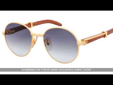 Vintage Cartier Santos Aviator Sunglasses Review | Cartier Santos Sunglasses Review