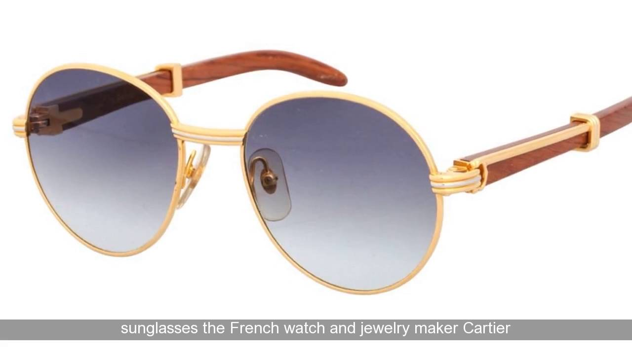cartier sunglasses santos hlxe  Vintage Cartier Santos Aviator Sunglasses Review  Cartier Santos Sunglasses  Review