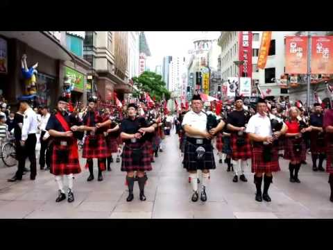 2014 Shanghai Tourism Festival - Canadian People's Pipes Band 1