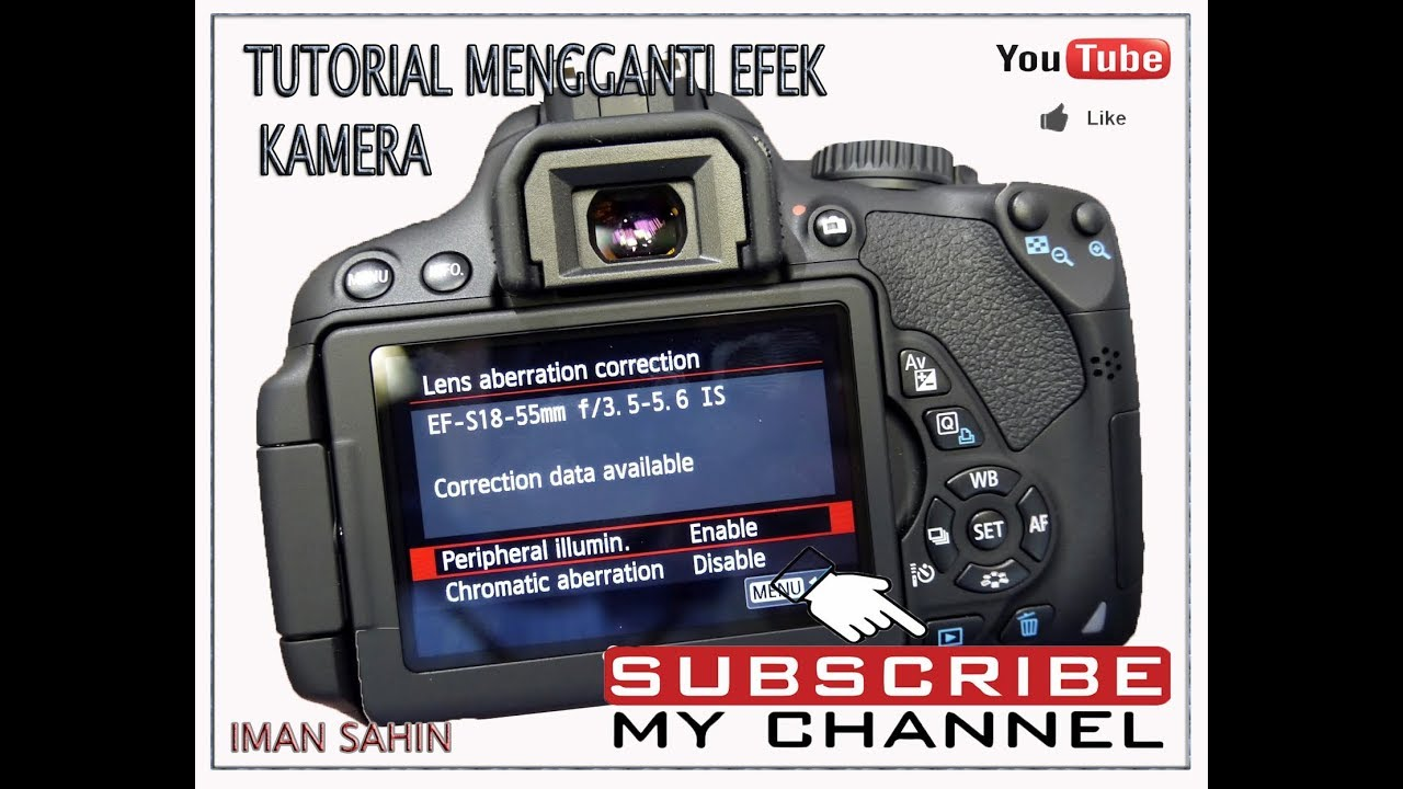 Tutorial Ganti Efek Kamera Youtube
