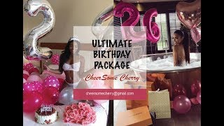 Ultimate Birthday Package  Subliminal