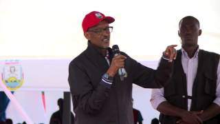 RPF Chairman Paul Kagame campaigns in Gicumbi Rutare | 01 August 2017