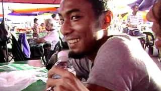 Psychotic Sufferance - lepak dan makan di pasar Filipina, Kota kinabalu Sabah
